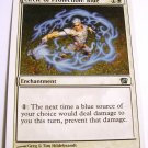 Circle of Protection: Blue 11/350 Uncommon 8th Edition White MTG Card