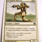 Crossbow Infantry 15/350 White Common 8th Edition MTG Card