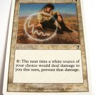 Circle of Protection: White 10/350 7th edition common white card