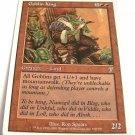 Goblin King 190/350 red rare 7th edition mtg card