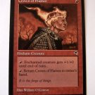 Crown of Flames red enchant creature tempest card
