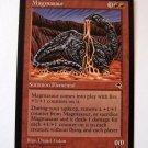 Magmasaur Rare Tempest red summon elemental card