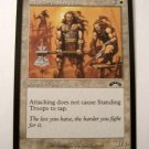 Standing Troops 22/143 white Summon Soldiers exodus card