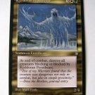 Kjeldoran Frostbeast Ice age gold white green uncommon summon frostbeast card