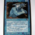 Labyrinth Minotaur (version 2) blue summon Homelands card