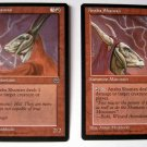 Anaba Shaman (version 1) OR (version 2) summon minotaur