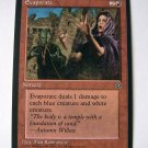 Evaporate uncommon red Homelands sorcery card