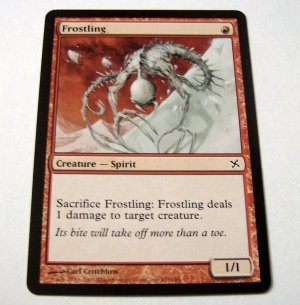 Frostling 103/165 red Betrayers common card