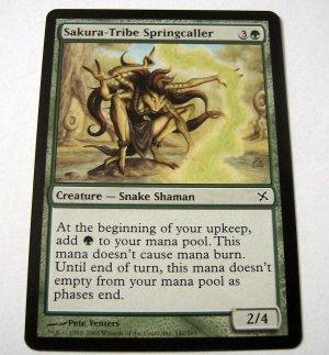 Sakura-Tribe Springcaller 142/165 green Betrayers common card