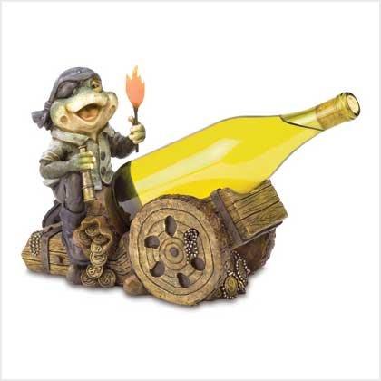 Pirate Frog Wine Bottle Holder