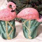 Flamingo Salt & Pepper Shakers