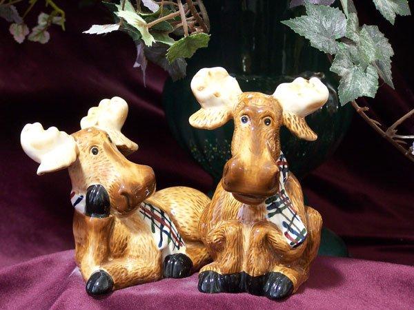 Salt & Pepper Shakers - Moose