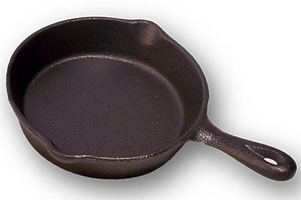 Cast Iron Spoon Rest Skillet