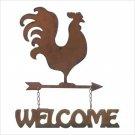 Weathervane Welcome Sign