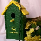 John Deere Shake Roof Birdhouse W/ Chimney