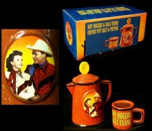 Roy Rogers & Dale Evans Salt & Pepper Shakers