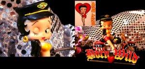 Betty Boop Born Wild Figure/Business Card Holder