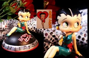"Betty Boop ""Bluesy Boop Musical"" Figurine"