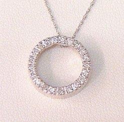 Circle of Life Pendant with Diamonds