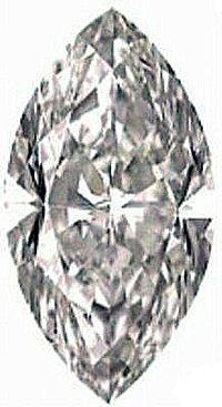 0.50CT FLAWLESS MARQUISE CUT SIMULATED DIAMOND