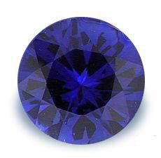 1.0CT FLAWLESS ROUND CUT SAPPHIRE SIMULATED DIAMOND