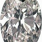 2.00CT FLAWLESS OVAL CUT SIMULATED DIAMOND