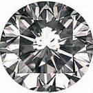 3.00CT FLAWLESS ROUND CUT SIMULATED DIAMOND