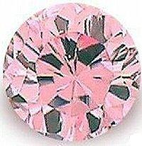 3.00CT PINK ROUND CUT SIMULATED DIAMOND