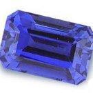 1.50CT FLAWLESS EMERALD-CUT SAPPHIRE SIMULATED DIAMOND
