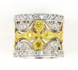 2.20ct BRILLIANT CUT SIMULATED DIAMOND ENGAGEMENT WEDDING RING