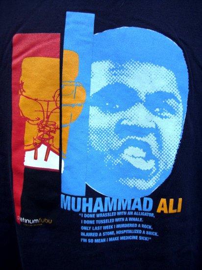 SOLD! MUHAMMAD ALI XL T-Shirt FUBU Platinum Edition