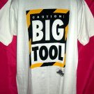 "FUN Large T-Shirt ""CAUTION "" BIG TOOL""  from TV's HOME IMPROVEMENT SHOW"