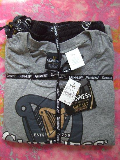 SOLD!  NEW GUINNESS BEER Men's (Mens) XXL Pajamas T-Shirt Pants