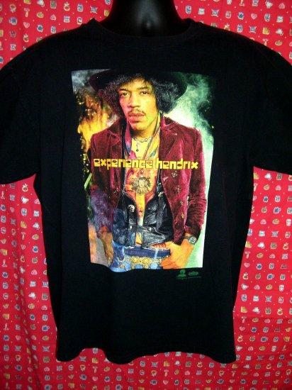 SOLD! Vintage JIMI HENDRIX Large Black T-Shirt EXPERIENCE HENDRIX