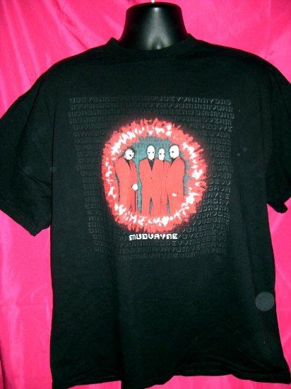 SOLD! Rare MUDVAYNE Black Large Large or XL T-Shirt Rap Metal Band