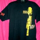 Miller Genuine Draft XL Black T-Shirt Guitar Graphic ~ Flavor 2 Savor Beer