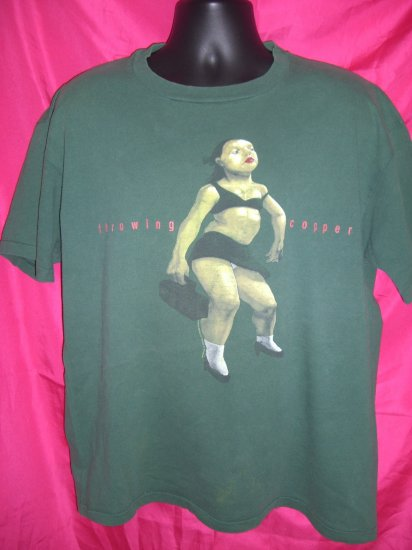 Vintage Throwing Copper Concert Tour XL T-Shirt 1994