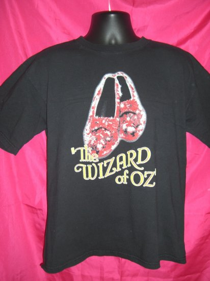 SOLD! Wizard of Oz Large T-Shirt Dorothy's Ruby Red Shoes