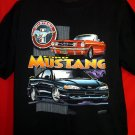 Ford Mustang Black XL T-Shirt Artist:  Dave England