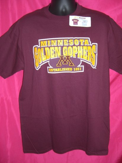 University of Minnesota NEW Large/XL T-Shirt U of M Golden Gophers