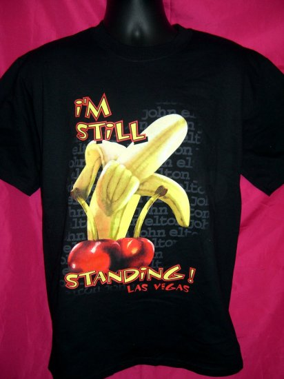 SOLD! Rare Elton John Las Vegas Concert Show Medium T-Shirt