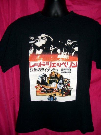 SOLD! Retro Repro LED ZEPPELIN Japanese Concert Tour Medium or Large T-Shirt
