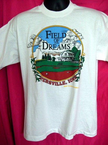Vintage 1991 Movie ~ FIELD OF DREAMS ~ Medium or Large T-Shirt  Dyersville Iowa IA  Baseball