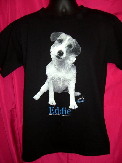 TV's FRASIER  EDDIE the Dog --Jack Russell Terrier ~ Circa 1997  Medium T-Shirt