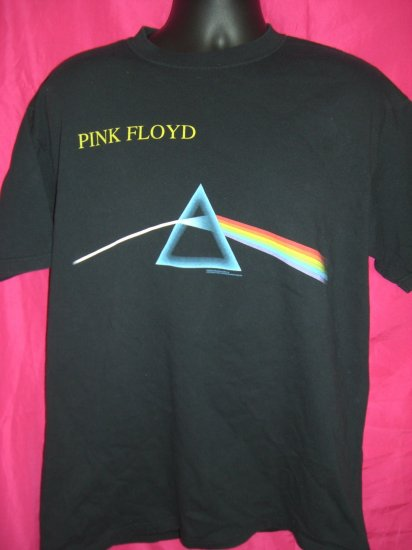 Pink Floyd Dark Side of the Moon Large or XL T-Shirt Classic Rock