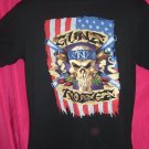 Rare 1991 GUNS N ROSES CONCERT TOUR Medium T-Shirt Dates Cities