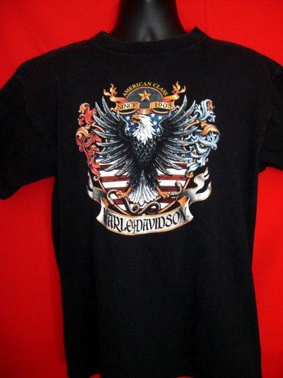 SOLD! HARLEY DAVIDSON Medium T-SHIRT Circa 1998 from HAWAII with Eagle