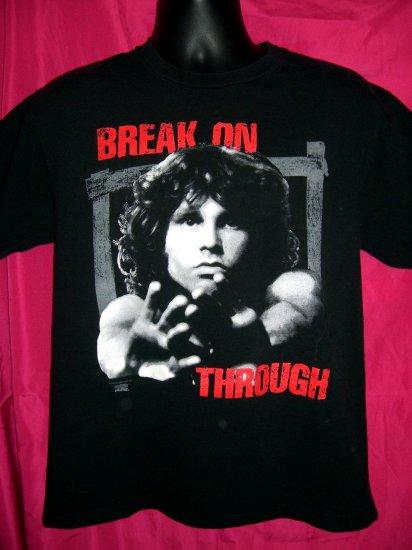 SOLD! Jim Morrison THE DOORS Break on Through Medium T-Shirt Vintage 1993