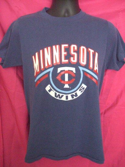 SOLD! MINNESOTA TWINS Vintage Size  Small Medium T-Shirt Thin