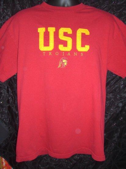 Retro Style Unique USC Trojans Medium or Large T-Shirt University of Southern California
